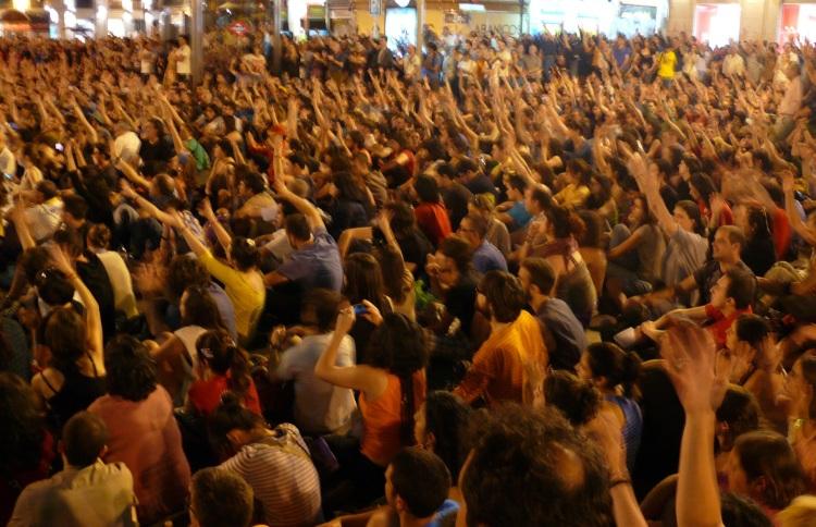 Puerta del Sol. Mayo 2012